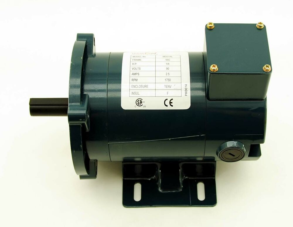 Lexar 1 4 hp dc motor tenv 90v 1750 rpm 56c permanent for 1 4 hp 12v dc electric motor