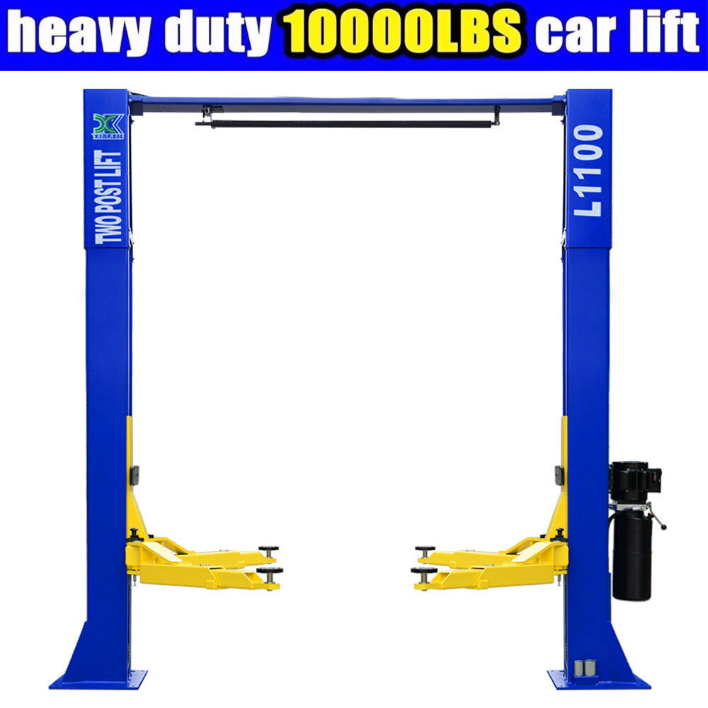 10000 Lb Car Lift >> 10,000lbs Car Lift L1100 2 Post Lift Car Auto Truck Hoist | eBay