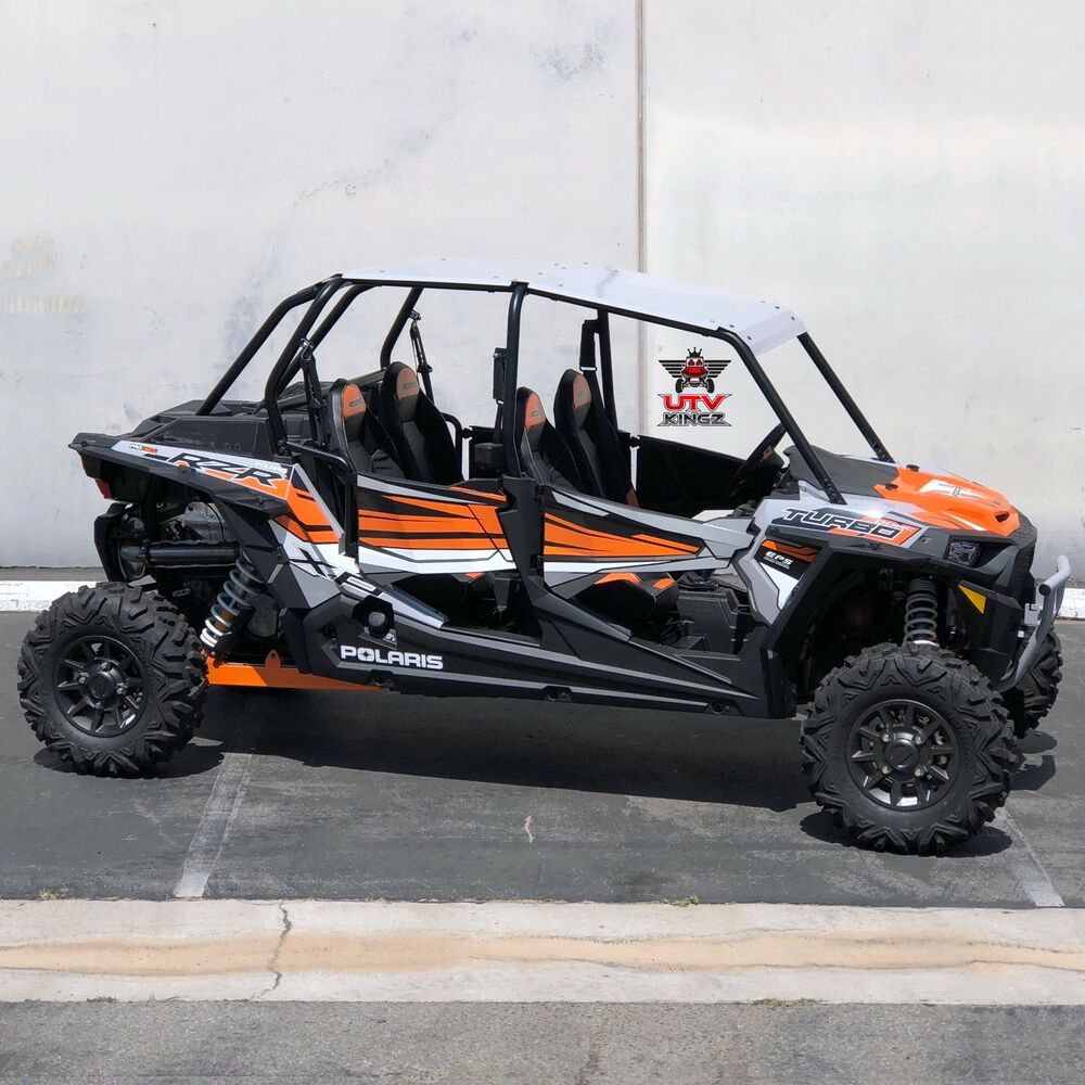 Polaris Rzr Xp 4 1000 Aluminum Roof 4 Seat Model Grey