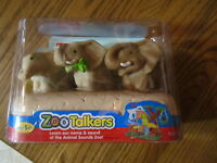 Fisher Price Little People Zoo Talkers Animal Elephant Family NEW mom dad baby