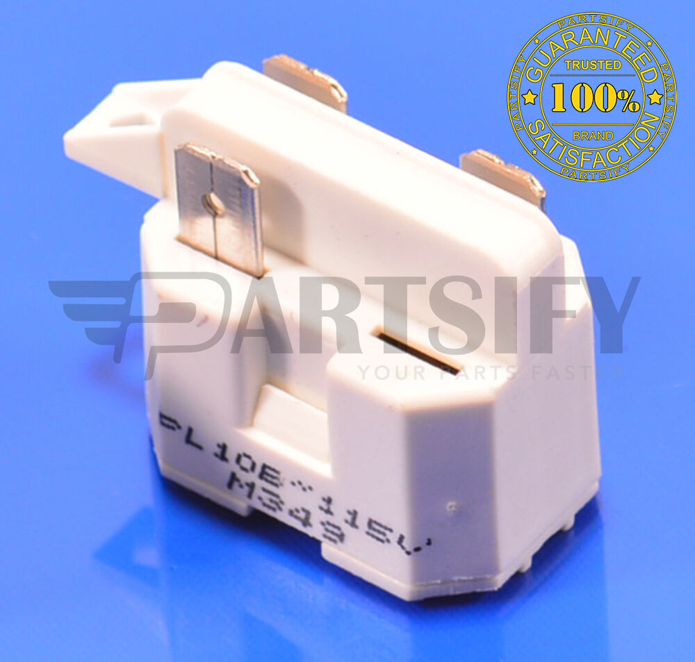 New 1108143 Refrigerator Start Relay For Whirlpool Kenmore