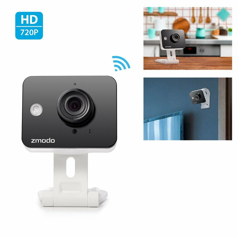 wireless security camera system vision indoor surveillance home mini wifi audio ebay. Black Bedroom Furniture Sets. Home Design Ideas