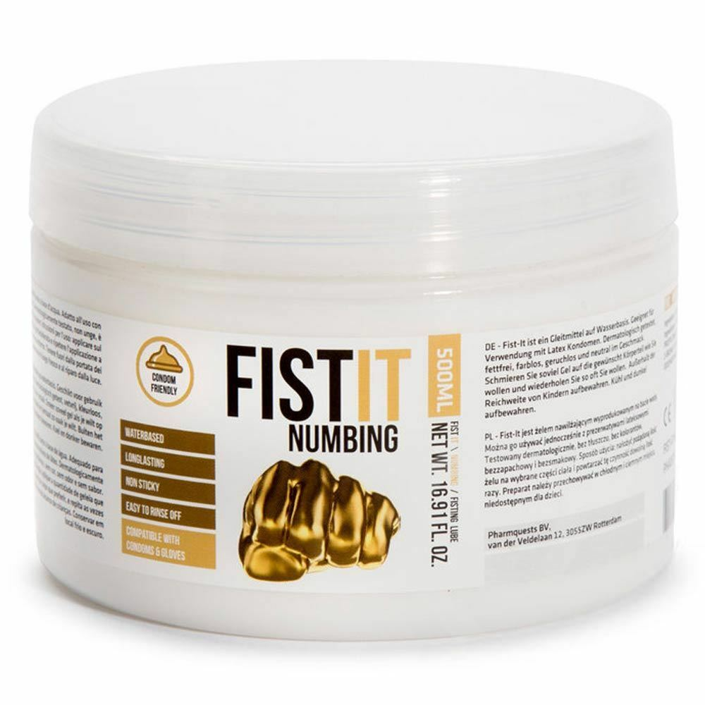 Fist-It Anal Lubricant Fisting Water Based Lube Numbing -8958