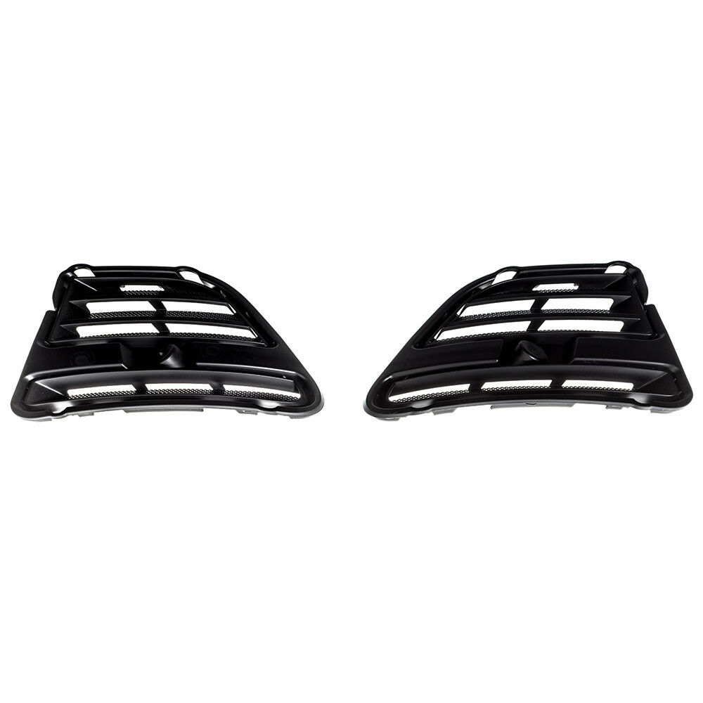 2012 Mustang Bumper Cover >> 2013-2014 Ford Mustang Right Left Front Bumper Fog Light Hole Delete Covers OEM | eBay
