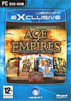 AGE OF EMPIRES Collector's Edition (Limited Edition) for PC Brand New Sealed