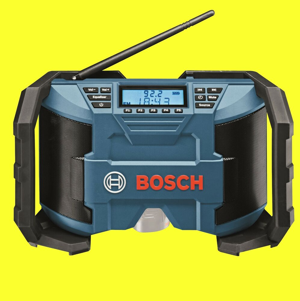 bosch akku baustellenradio gml 10 8 v li radio jobsite top sound ebay. Black Bedroom Furniture Sets. Home Design Ideas