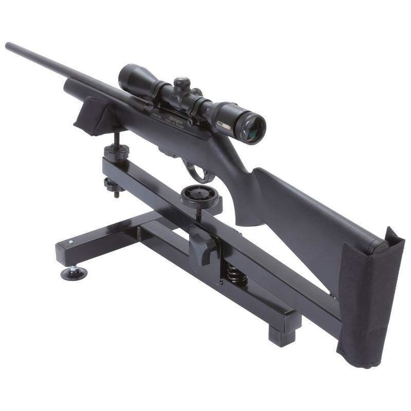 New Steel Gun Rest Shooting Range Portable Rifle Bench Stand Target Hunting Ebay