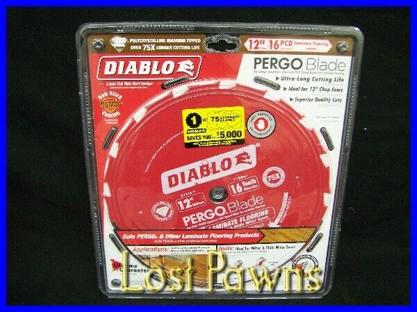 Diablo D1216lf 12 Quot 16 Pcd Teeth Pergo Laminate Flooring
