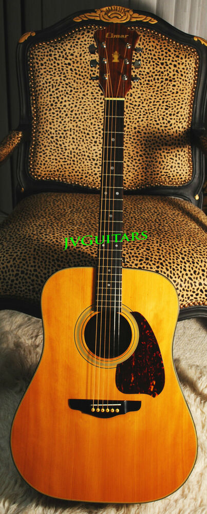 1982 Ibanez Factory Built Cimar D300 Acoustic D28 Near Mint Japan Crafted Jvg Ebay