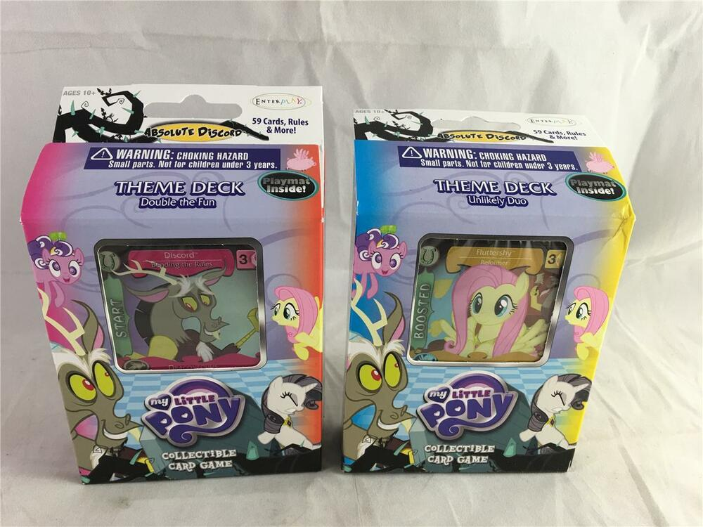 Double the fun my little pony