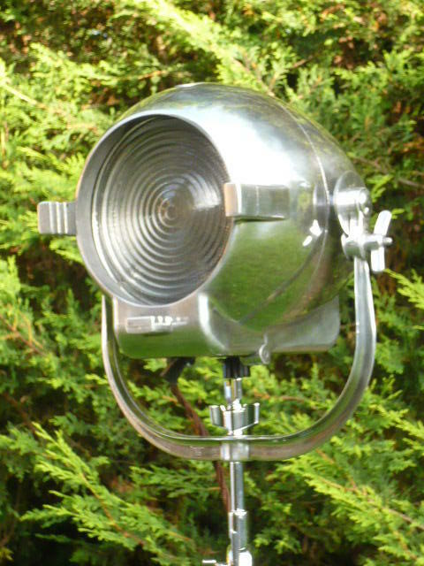 Vintage Theatre Light Antique Lamp Film Studio Art Deco