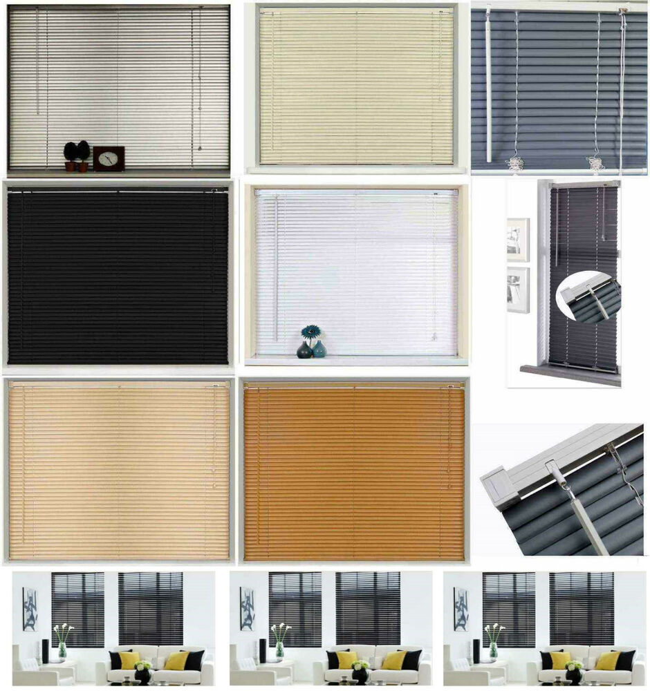 New Pvc Blinds Window Venetian Easy Fit Blinds Home Office