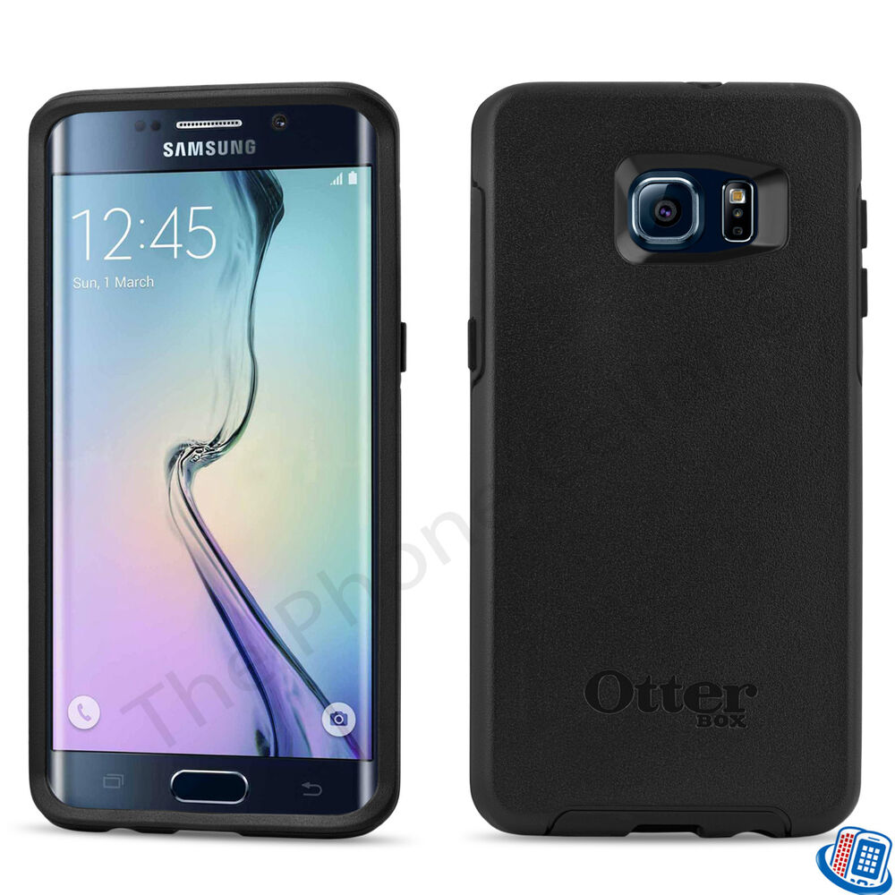 new oem otterbox symmetry series black shell case samsung. Black Bedroom Furniture Sets. Home Design Ideas