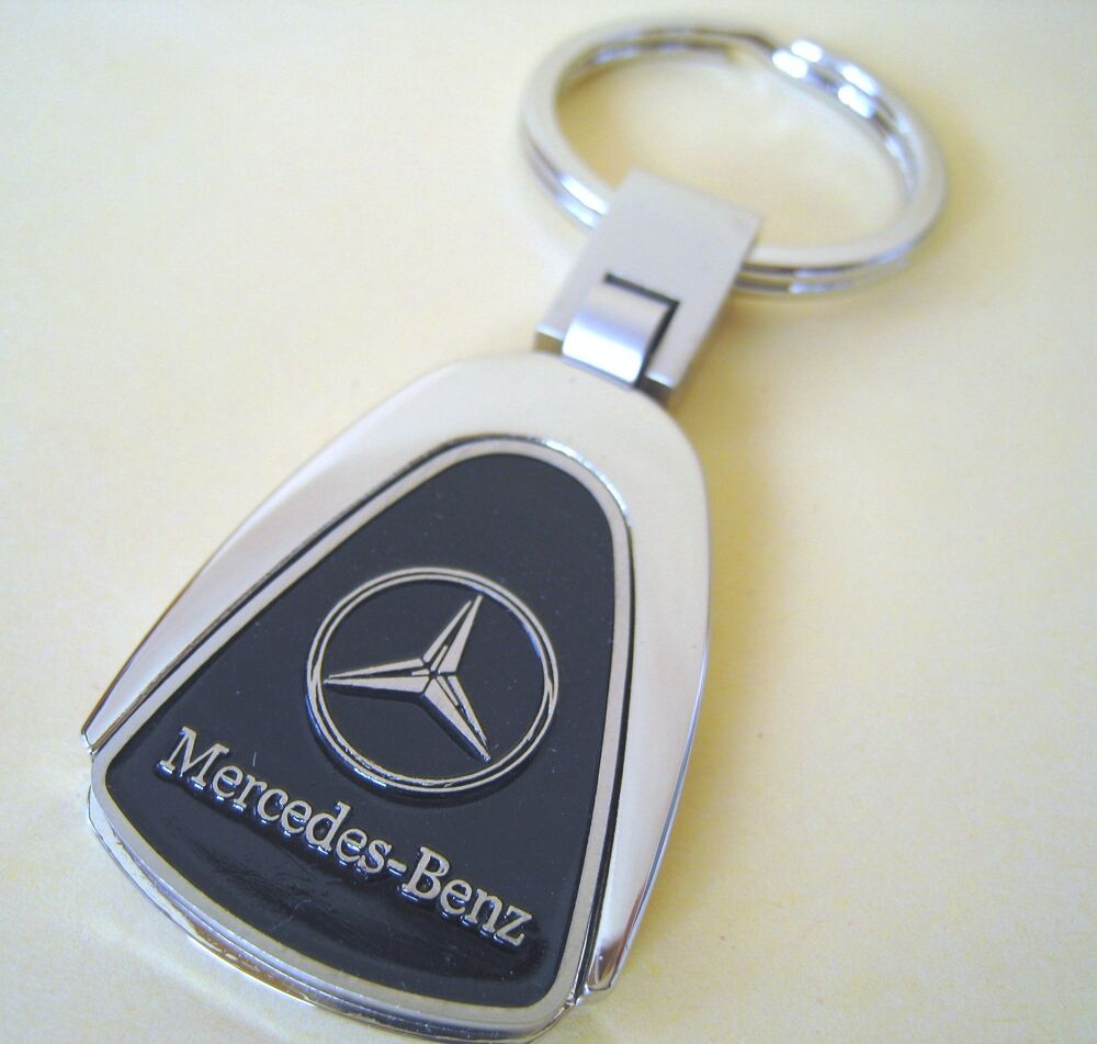 mercedes benz key chain ring fob cla250 c300 c250 e350 c e cle 2017 2016 black ebay. Black Bedroom Furniture Sets. Home Design Ideas