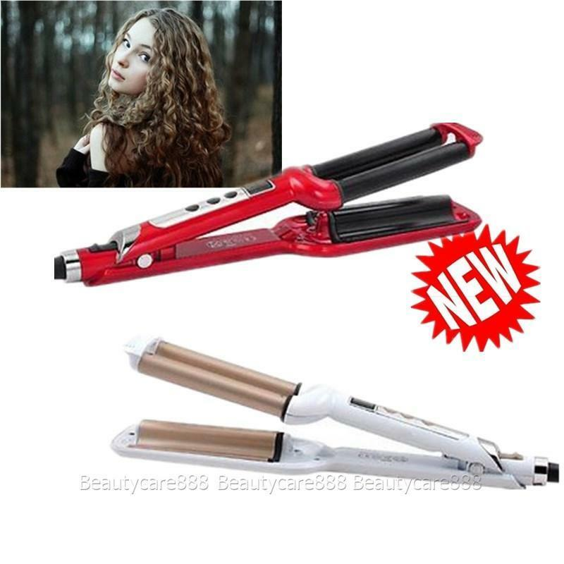 220v Deep Waver Iron Hair Curling Wave Ceramic Hair Styler