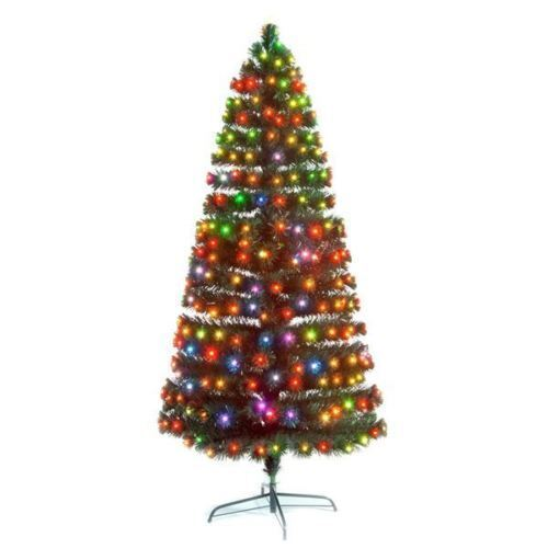 2e71242340c Details about 7ft 210cm MULTI COLOURED LED SNOWBRIGHT IN OR OUTDOOR CHRISTMAS  TREE
