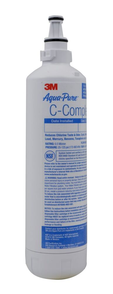 3m Aqua Pure C Complete Lead Cysts Reduction Undersink Water Filter Cartridge Ebay