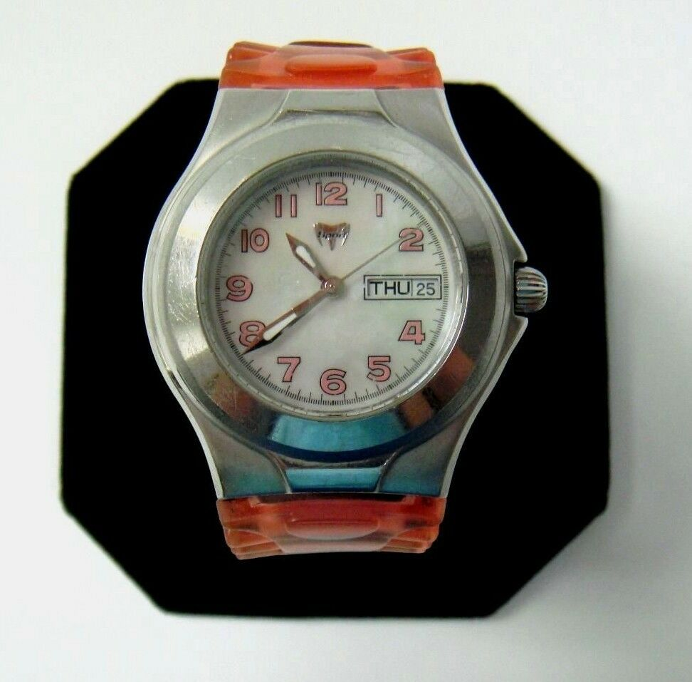 Technomarine tmax sport mother of pearl dial ladies watch ebay for Mother of pearl dial watch