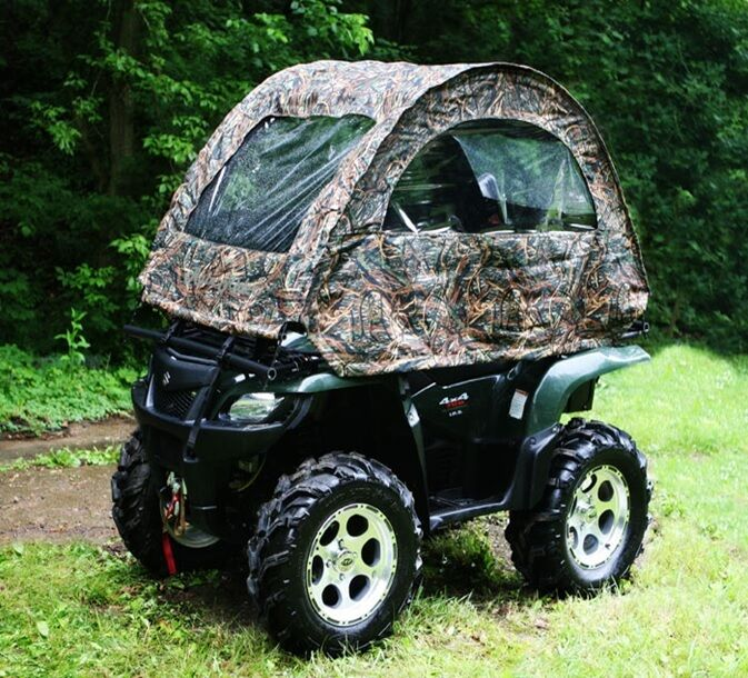 Rain Rider Atv Soft Top Cab Multipurpose Mossy Oak Camo