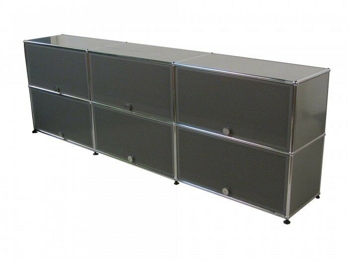 usm haller sideboard 6 einschubt ren ebay. Black Bedroom Furniture Sets. Home Design Ideas