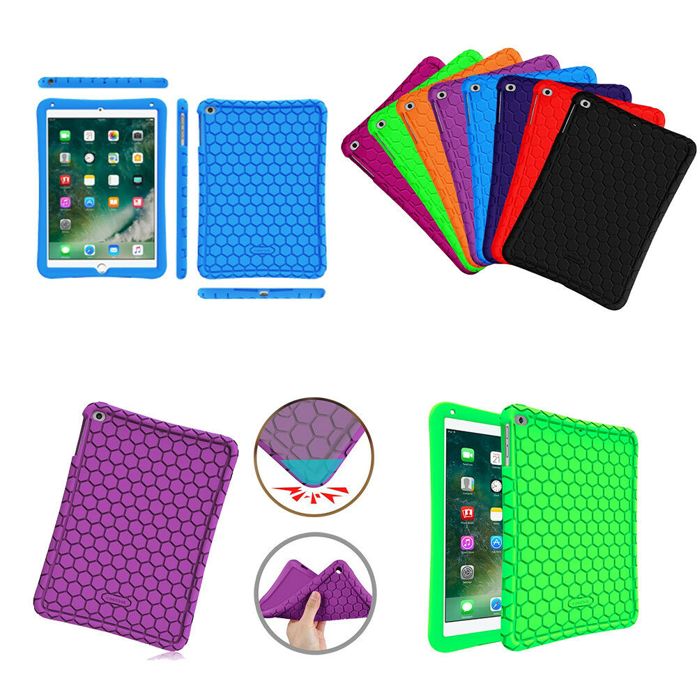 shock proof silicone case cover for ipad air air 2. Black Bedroom Furniture Sets. Home Design Ideas