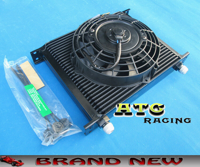 Transmission Oil Coolers And Cooler : Universal row an transmission oil cooler quot inch
