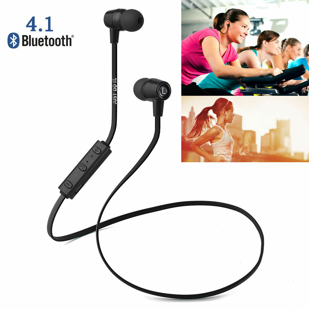 bluetooth kabellos stereo headset kopfh rer sports f r iphone 5 5s 6 6s plus ebay. Black Bedroom Furniture Sets. Home Design Ideas