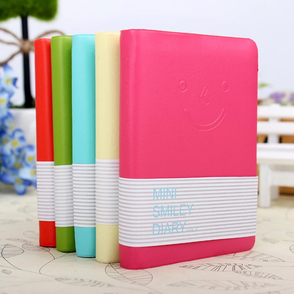 """Password Journal Just 19 97: Cute """"Smiley"""" Mini Notebook Paper Memo Diary Planner Tiny"""