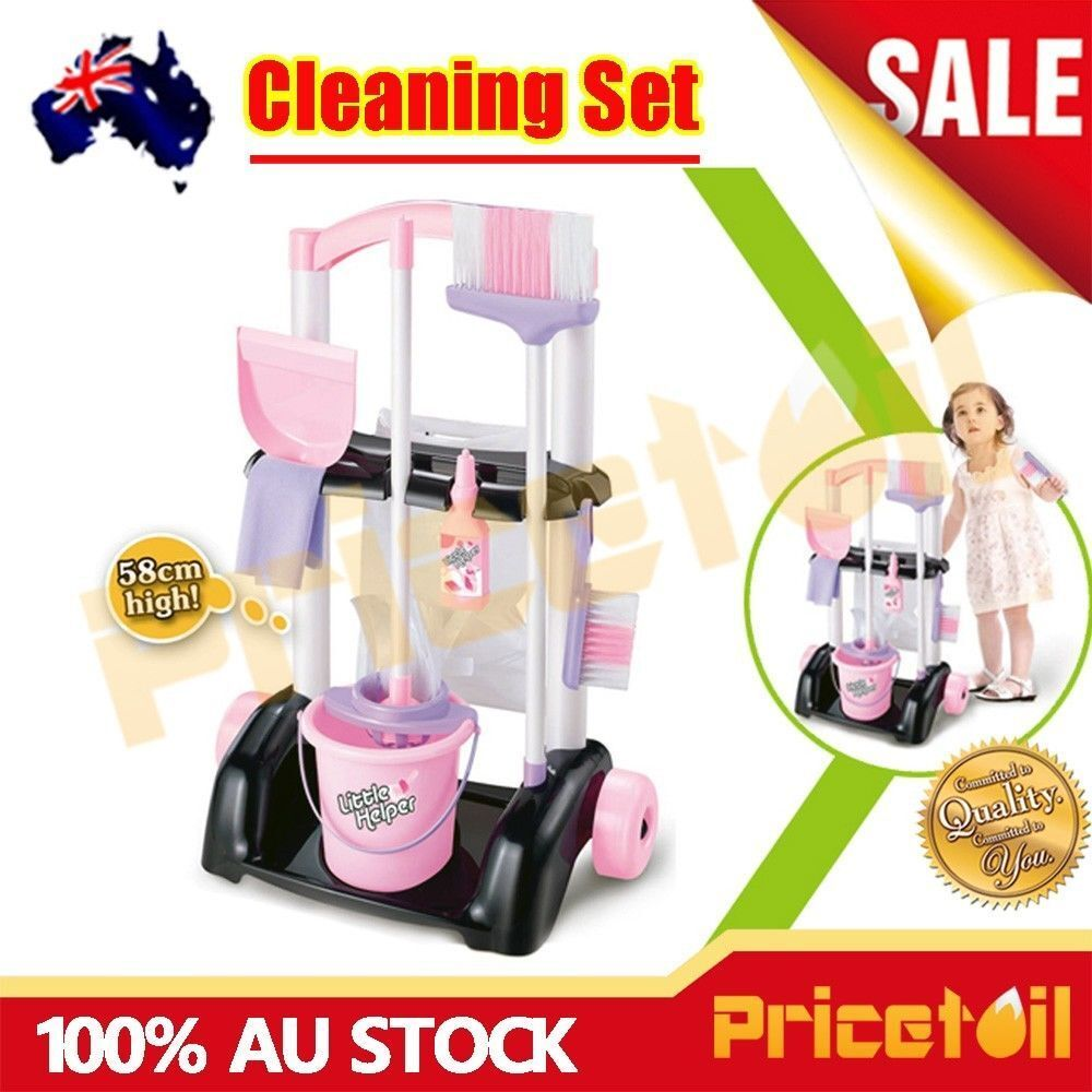 Kids Children Maid Cleaner Cleaning Housework Pretend Play