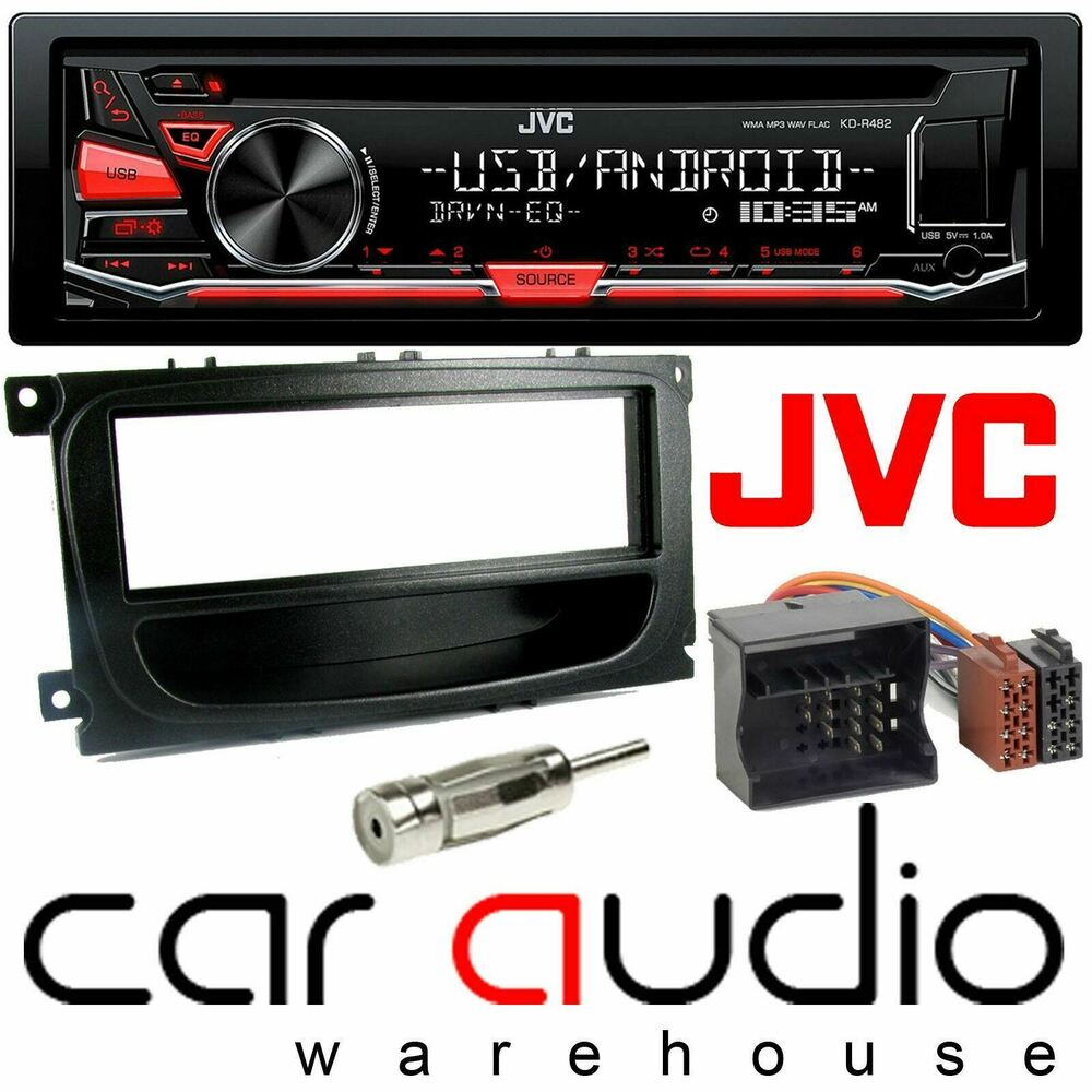 ford mondeo mk3 jvc car stereo cd mp3 radio usb aux player. Black Bedroom Furniture Sets. Home Design Ideas