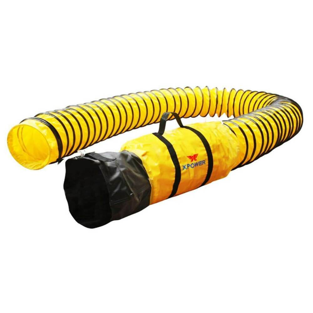 Flexible Duct Hose : Xpower dh foot inch diameter ducting hose for
