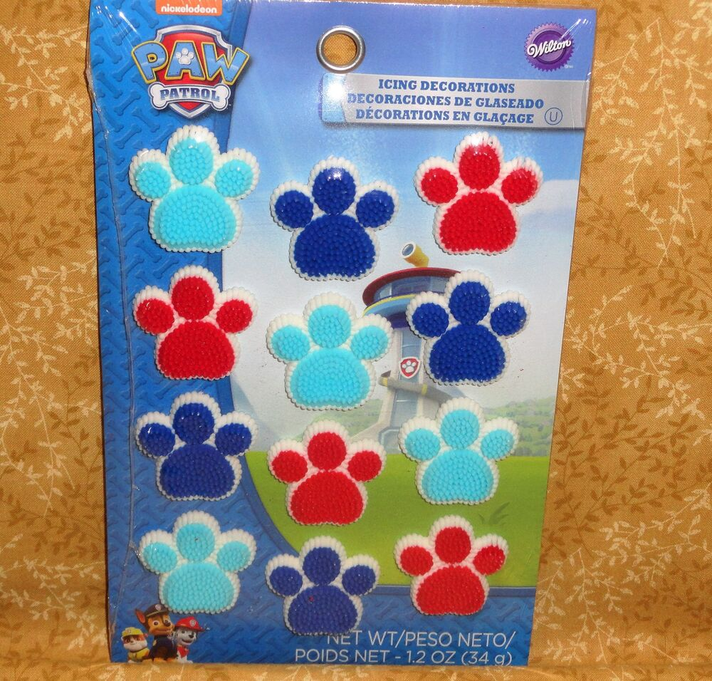 Paw Patrol Edible Cupcake Toppers Decorations Wilton 710