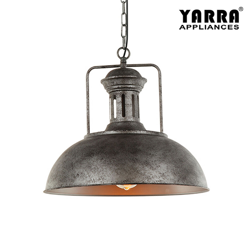 Industrial Vintage Pendant Light Steel Lamp Base Classical