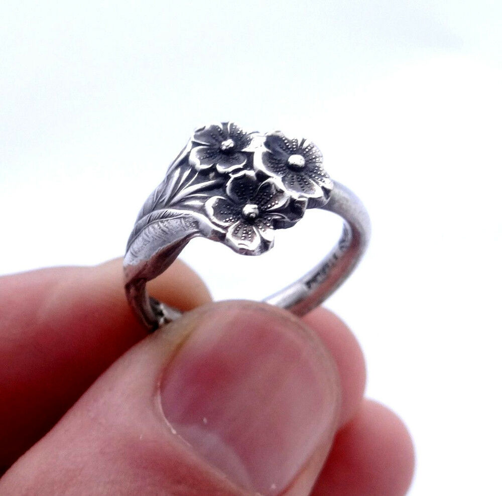 Reed And Barton Sterling Spoon Ring