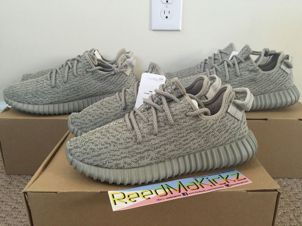 7458d4c2aedec Details about Adidas Yeezy Boost 350 x Kanye west Moonrock mens size 7 us  100% AUTHENTIC