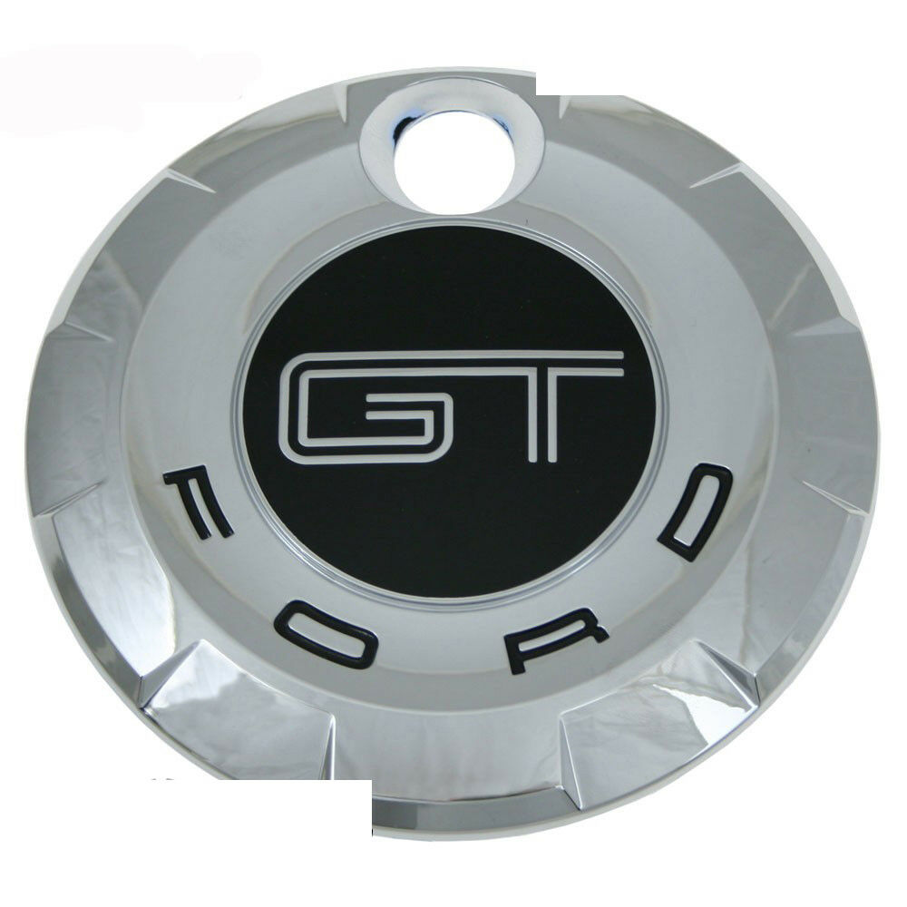 05 09 ford mustang gt rear trunk decklid gas cap chrome. Black Bedroom Furniture Sets. Home Design Ideas
