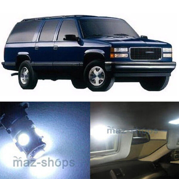 1995 Gmc Vandura G1500 Interior: 14pcs White LED Lights Interior Package Kit For Chevy/GMC