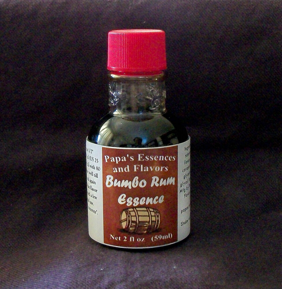 Papa S Bumbo Spiced Rum Essence One 2 Oz Bottle Ebay