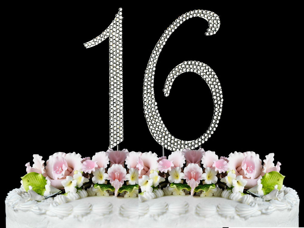 Sweet Sixteen Cake Toppers Pictures