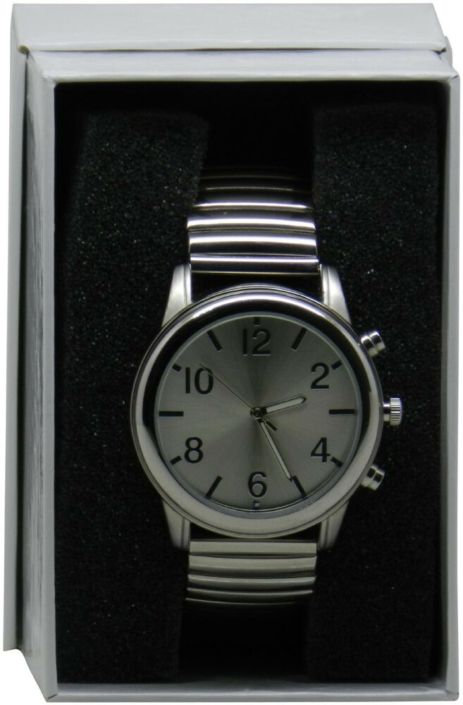 Self-Setting Atomic Talking Wrist Watch with Time, Date ...