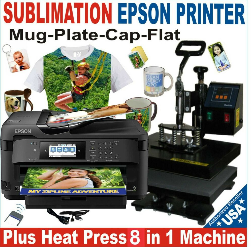 6 In 1 Heat Press Sublimation Combo Complete Pack Plus