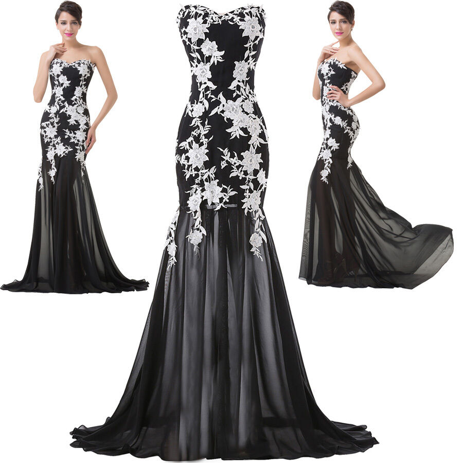 Evening Wear For Weddings: 2016 Women Formal Ball Gowns Prom Party Long Wedding