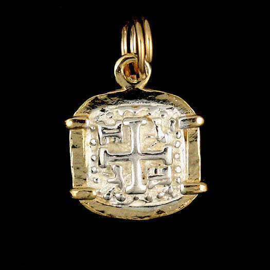 atocha sunken treasure jewelry square silver coin