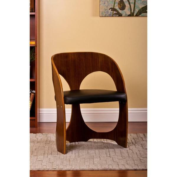Modern Accent Arm Chair Wood Mcm Mid Century Living Room
