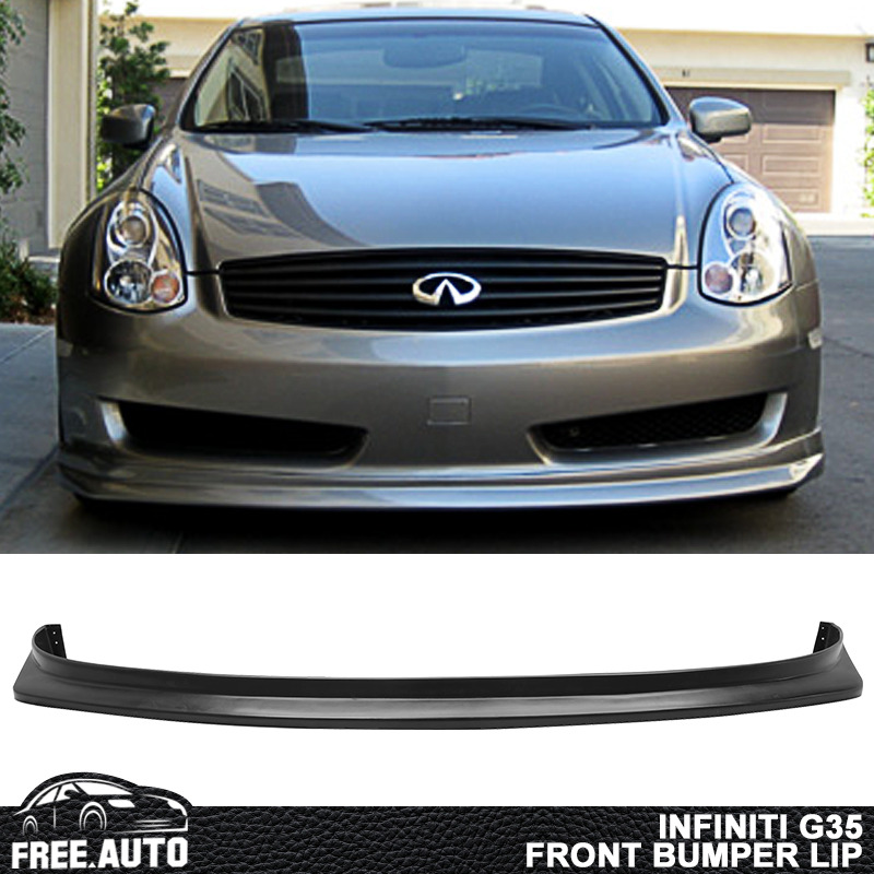 1992 Infiniti G Exterior: Fit For 06-07 Infiniti G35 2Dr Sports Front Bumper Lip
