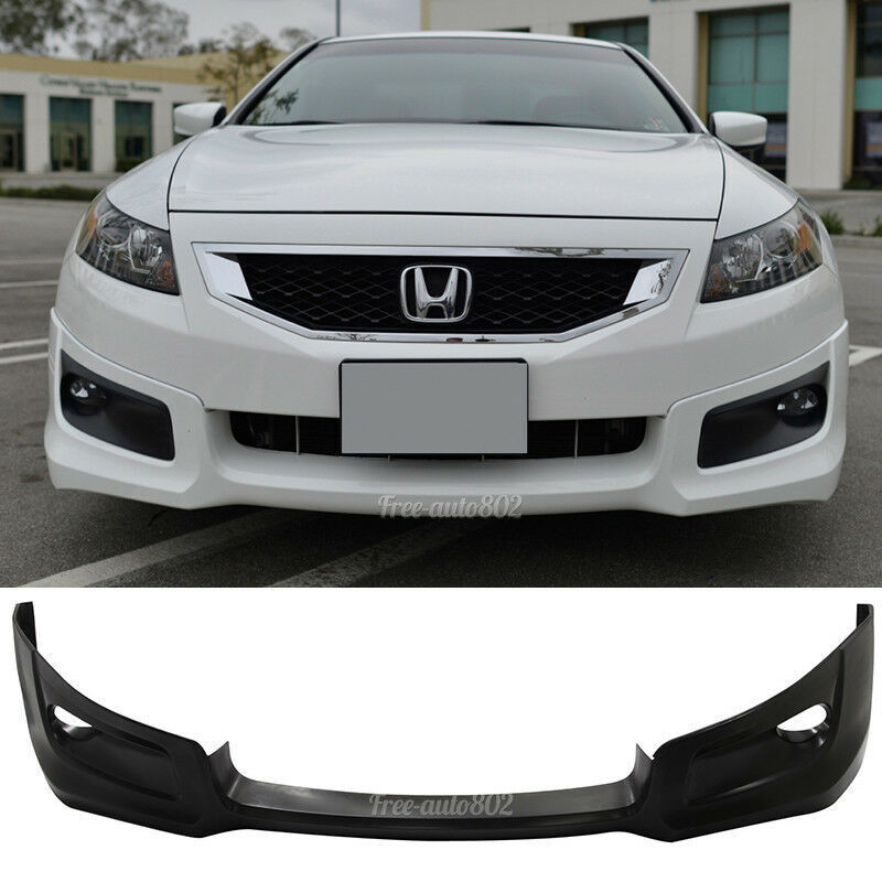 Scion Frs Parts >> Fit For 08-10 Honda Accord Coupe HFP Style PU Front Bumper Lip Poly Urethane 848524025587 | eBay