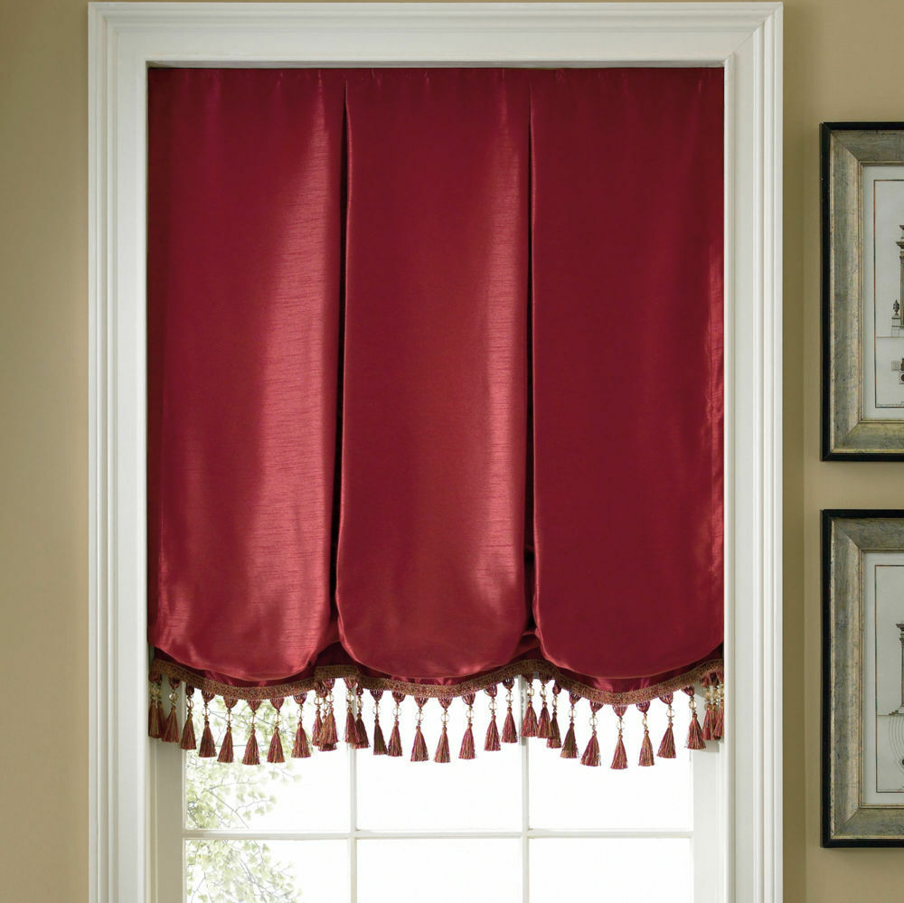 Milan balloon roman shade assorted colors and sizes free shipping ebay