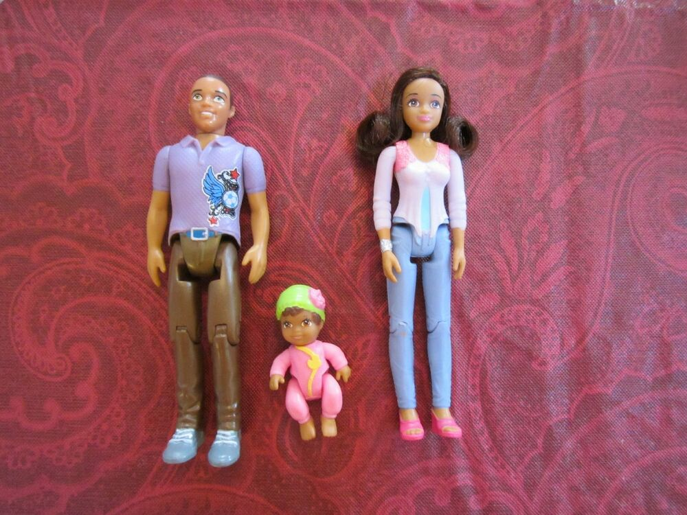 Toys For Mom And Dad : Fisher price loving family aa african american parents