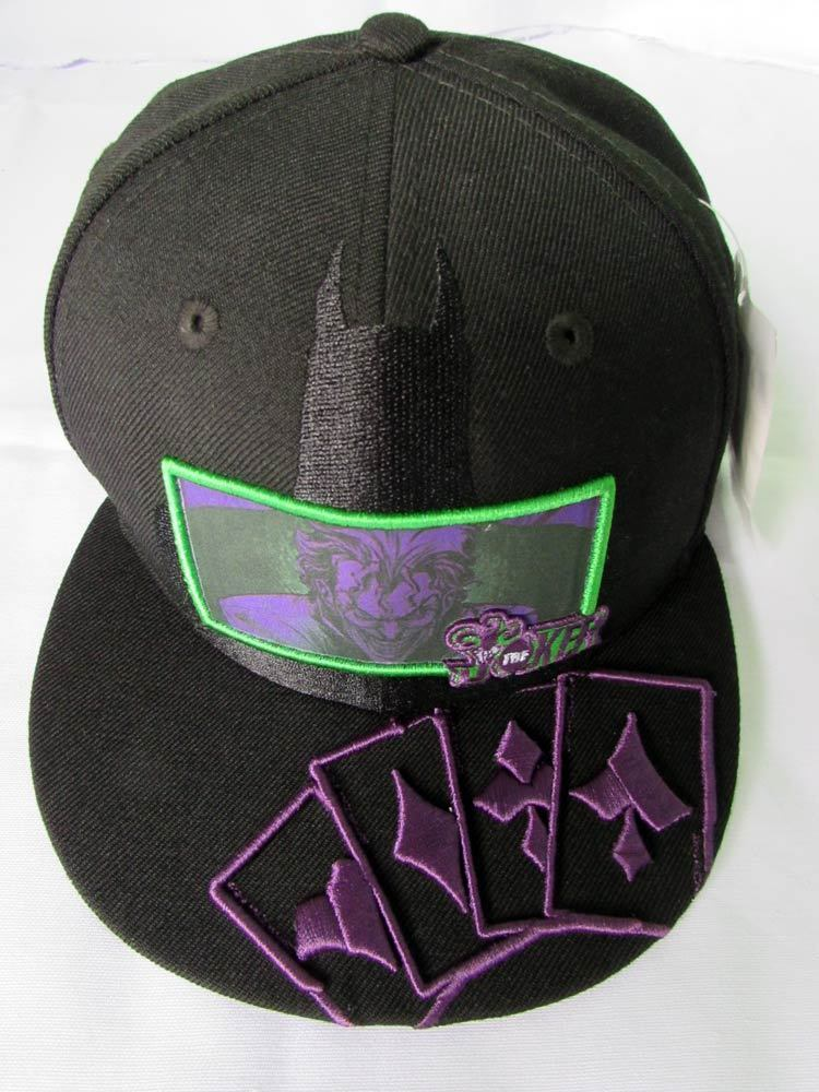 New Era Cap Hat 59fifty The Joker Card Vs Batman Dc Comics