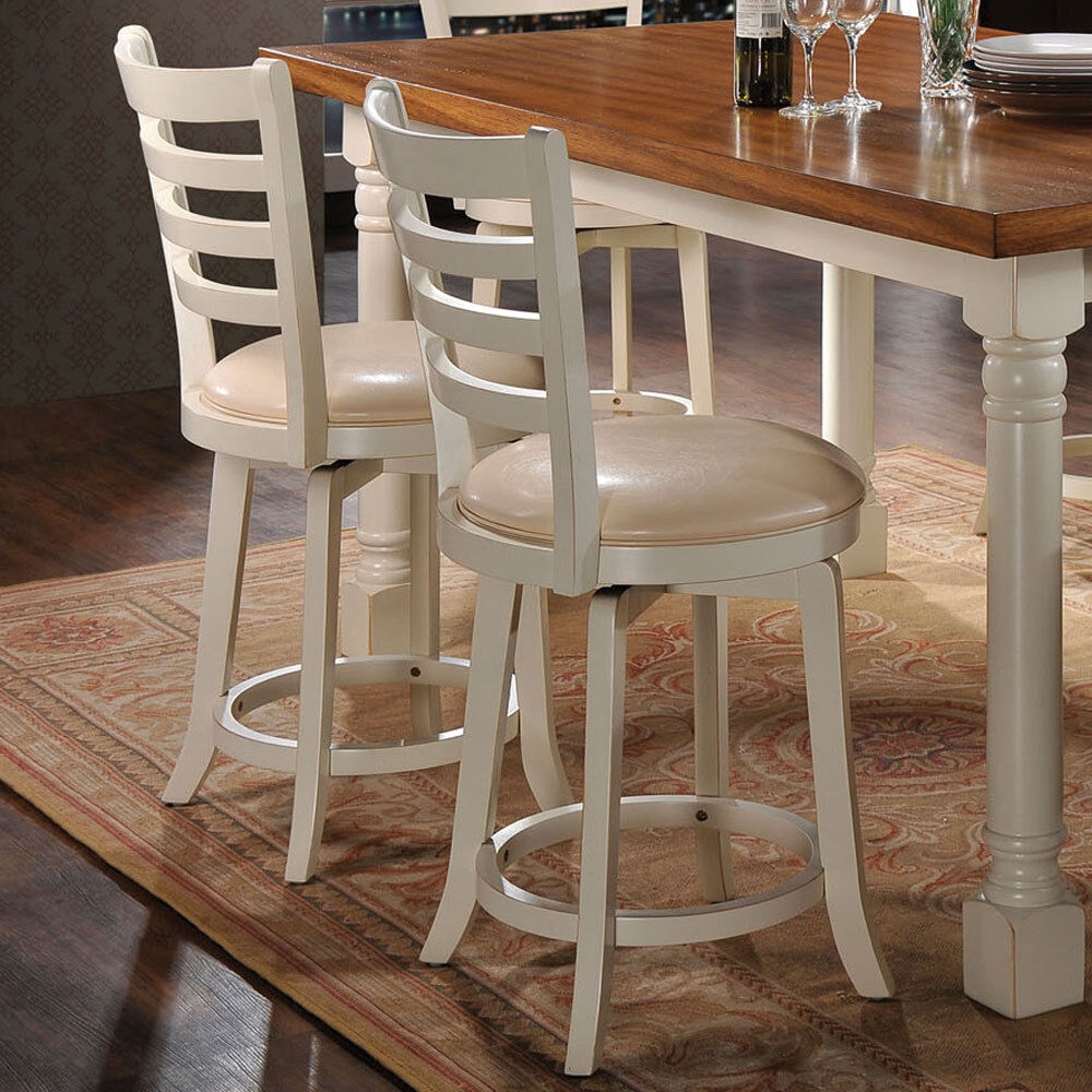 Wilton Set Of 2 Swivel Counter Height Barstool Stool